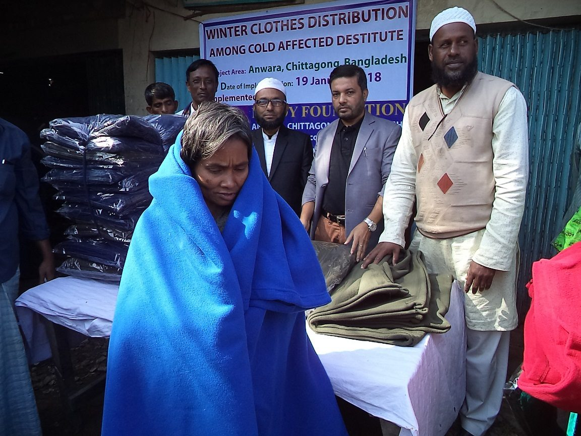 Winter Clothes Distribution Program of Needy Foundation
