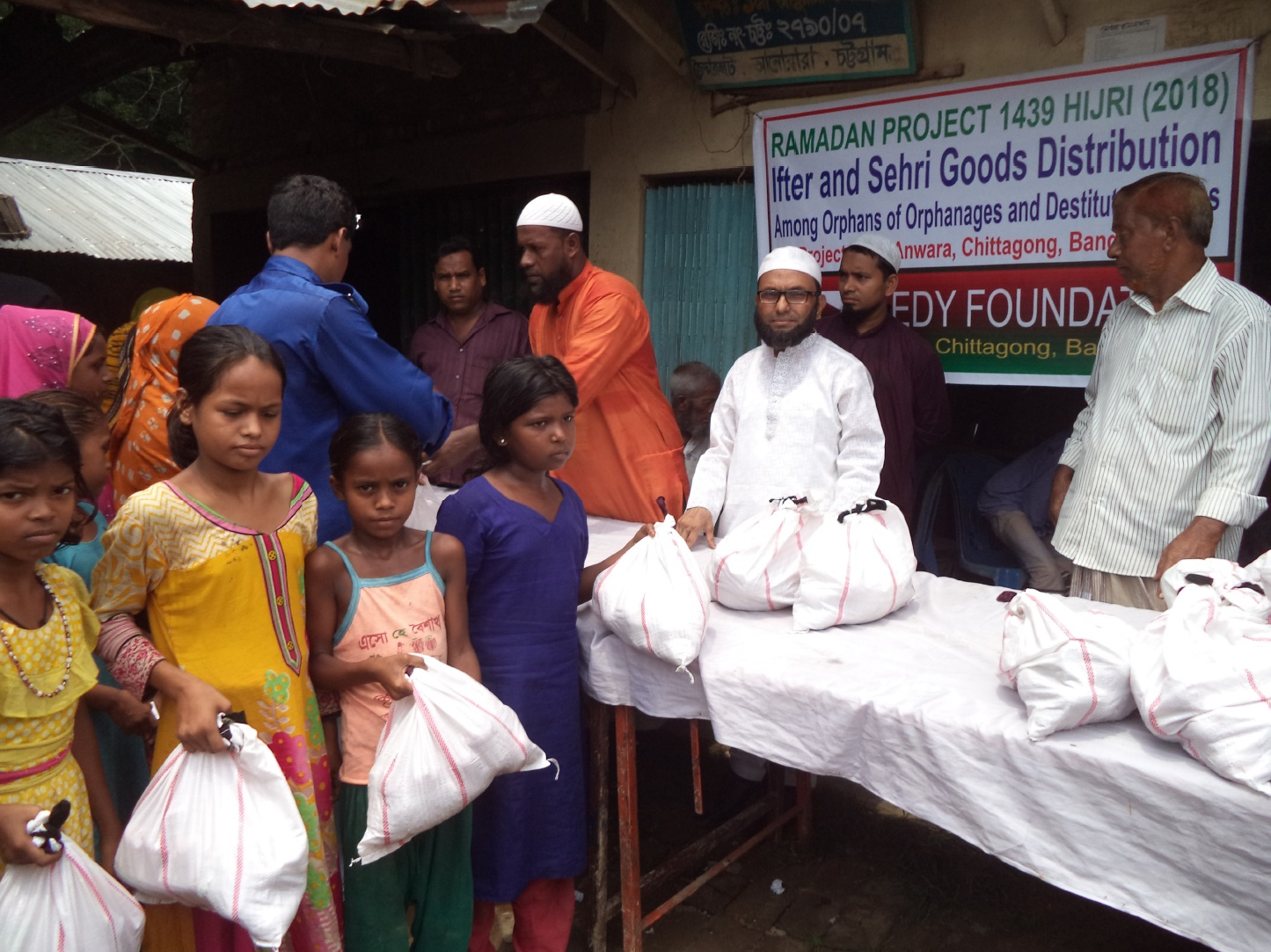 Ifter and Sehri for needy and widows02